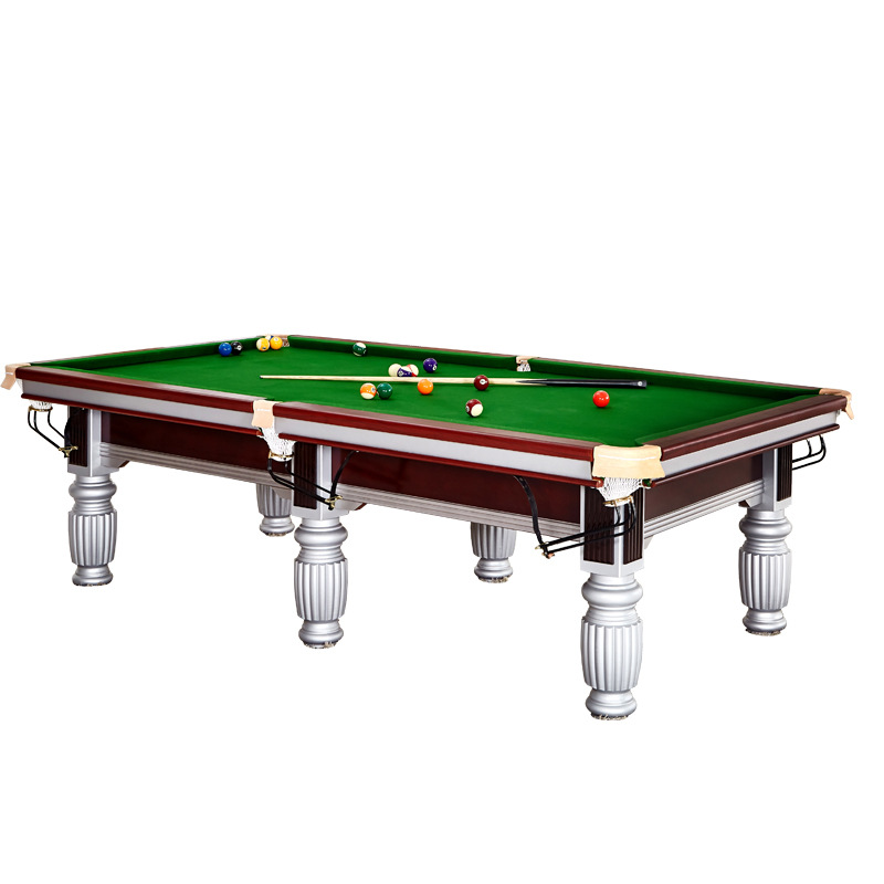 Standard type pool table adult pool table American black 8 commercial billiards Chinese home training