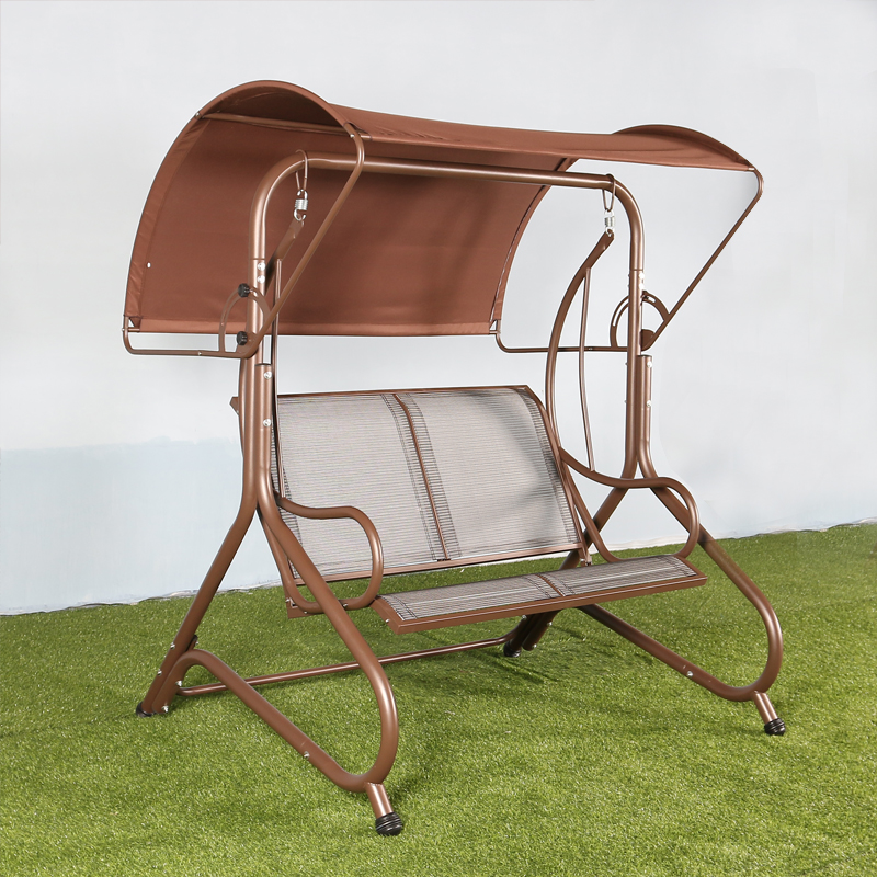 Hanging chair balcony outdoor rocking chair two leisure hanging