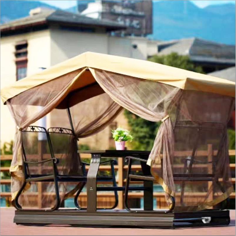 Outdoor swing rocking chair patio cradle