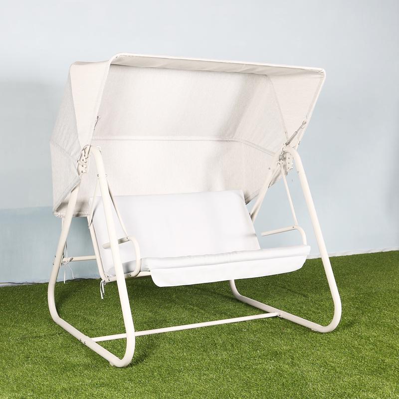 Home balcony double hammock lifting chair