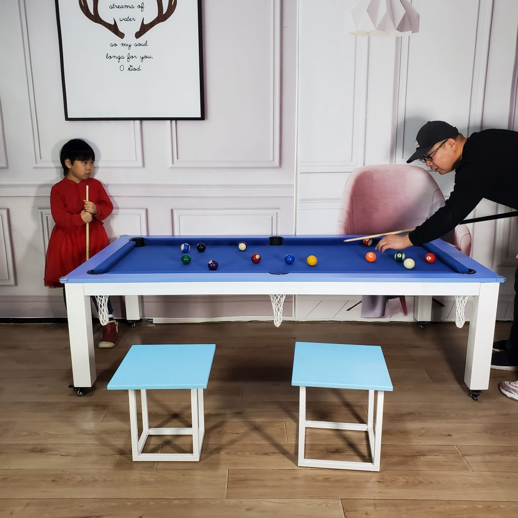 Home multi-function pool table sizes support customization
