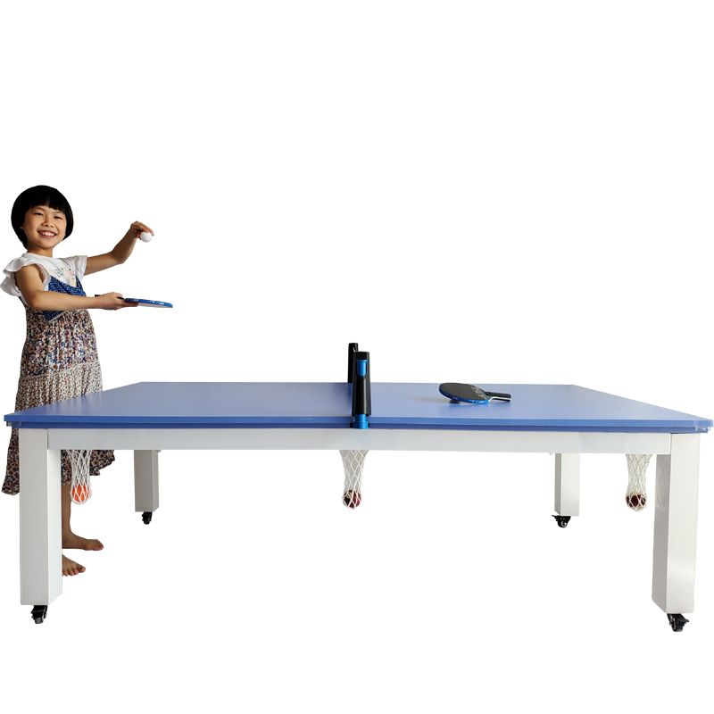 removable Multi-purpose pool table Ping pong table