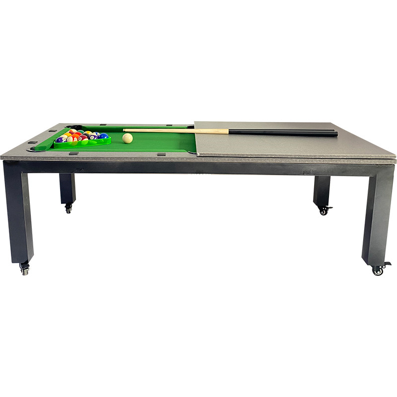 Home indoor multi-function black 8 pool table family table tennis table 2 in 1 table American 9 pool conference table