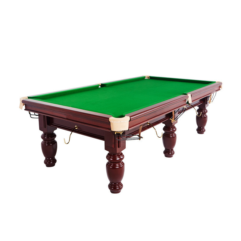 Chinese flower leg pool table, pool table standard adult American black 8 two in one table tennis billiards two-use Chinese black eight commercial