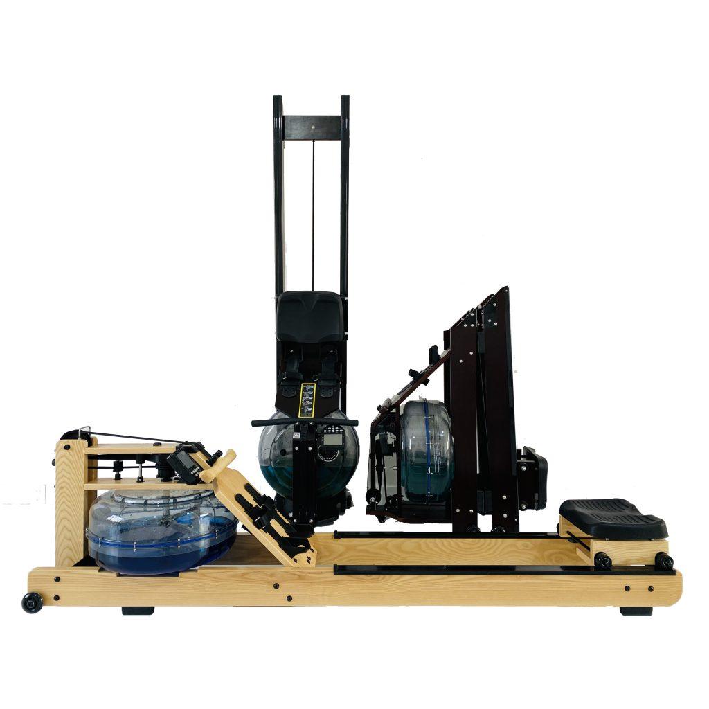 Intelligent water resistance rowing machine home gym equipment room智能水阻划船机家用健身房器材室内