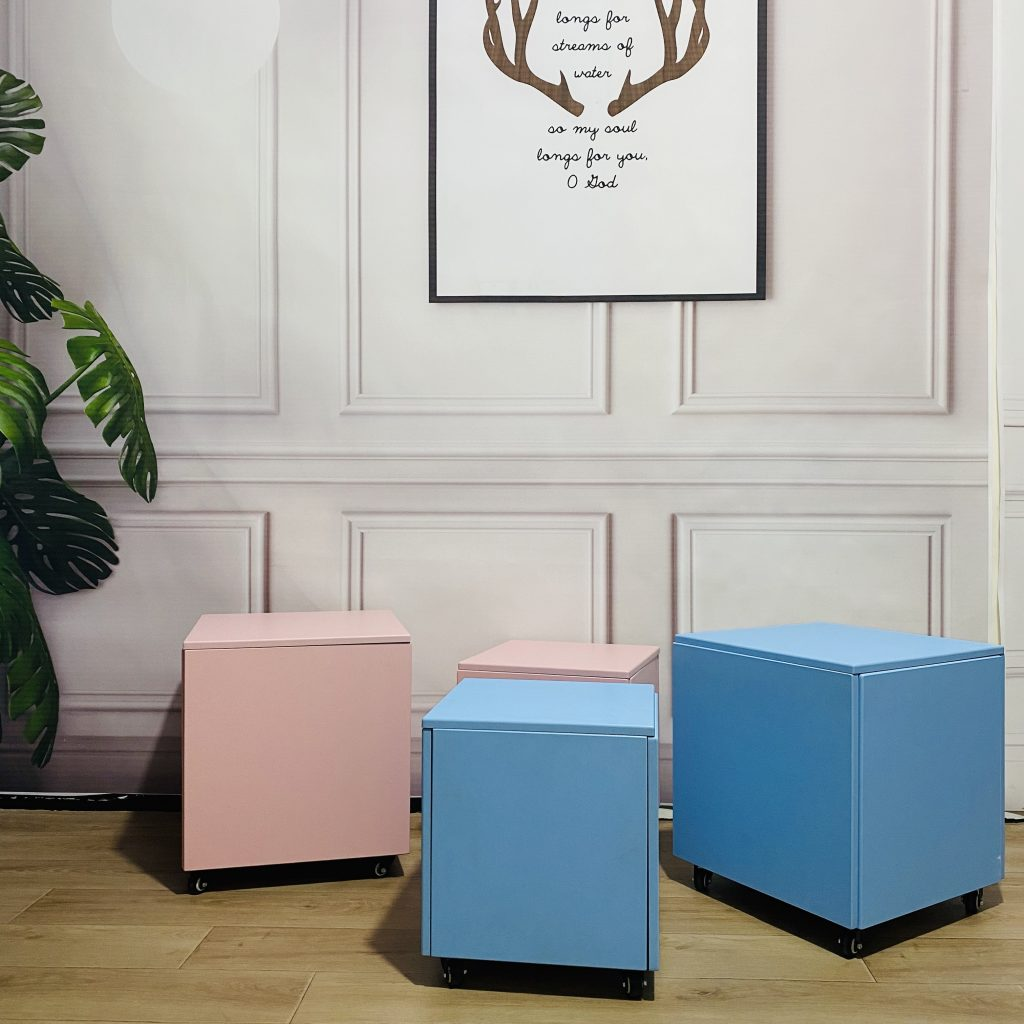 Rubik's cube stool 5 in 1 combination household multifunctional tea table living room stool low stool small bench for shoe stool