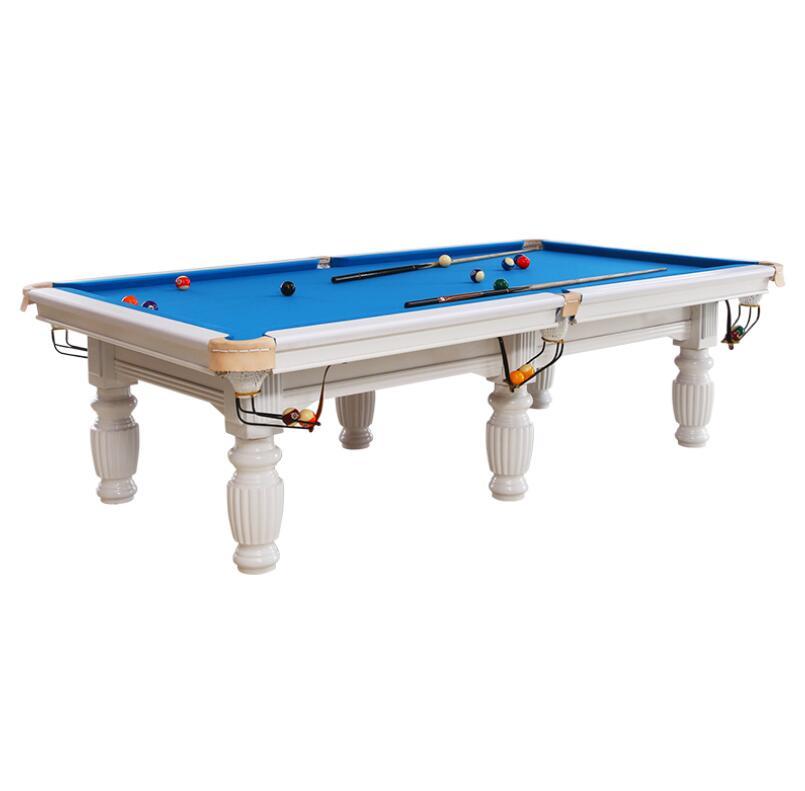 Pool table American indoor Chinese black 80 % standard type pool table home table tennis 2 in 1